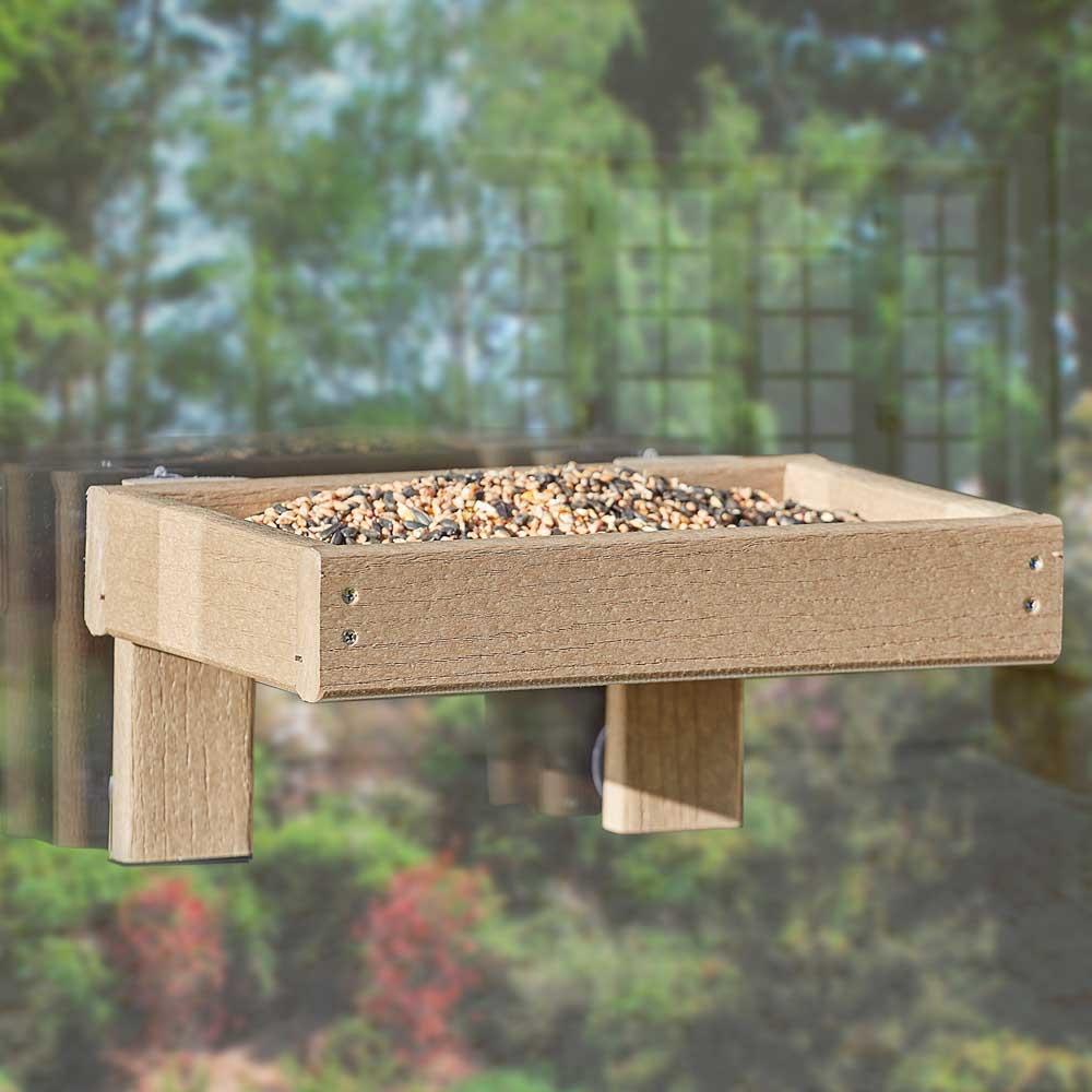 Woodlook Window Tray Happy Beaks